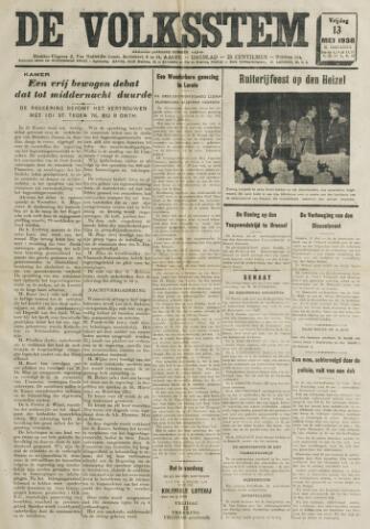 De Volksstem 1938-05-13