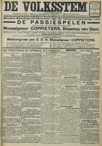 De Volksstem 1931-10-18