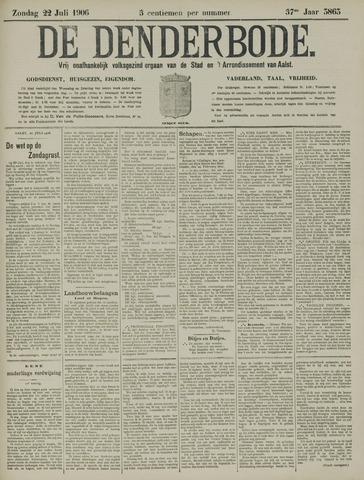 De Denderbode 1906-07-22
