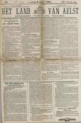 Het Land van Aelst 1884-04-06