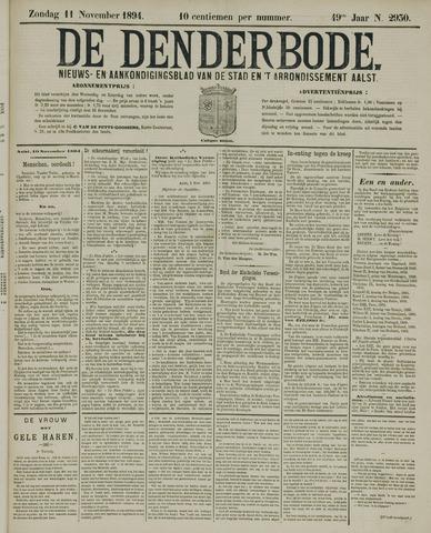 De Denderbode 1894-11-11