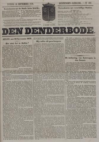 De Denderbode 1859-09-11