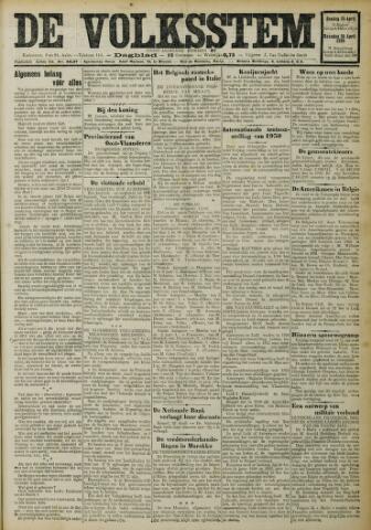 De Volksstem 1926-04-25