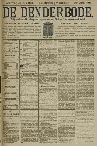 De Denderbode 1896-07-30