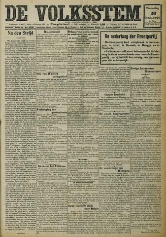 De Volksstem 1926-10-20
