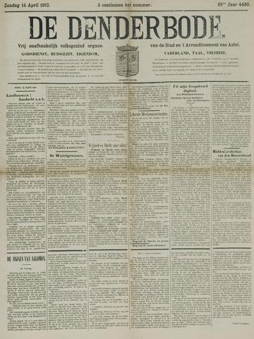 De Denderbode 1912-04-14