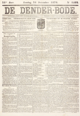 De Denderbode 1876-12-31