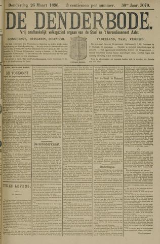 De Denderbode 1896-03-26