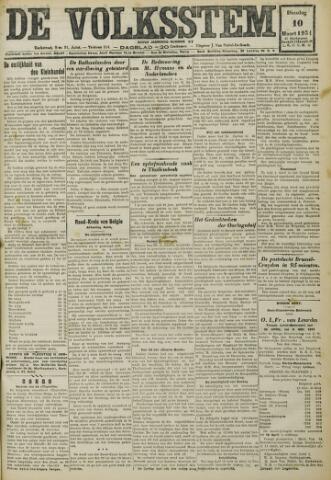 De Volksstem 1931-03-10