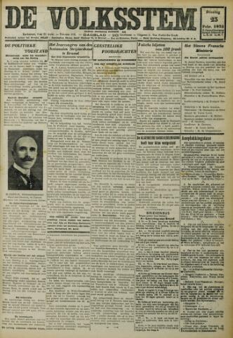 De Volksstem 1932-02-23