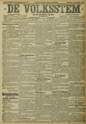 De Volksstem 1915-09-07