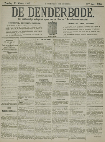 De Denderbode 1906-03-25