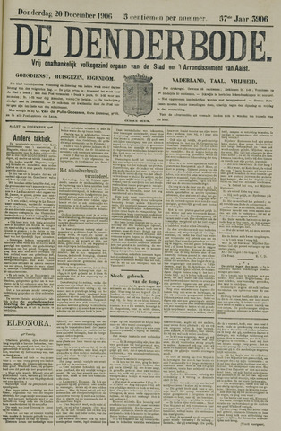 De Denderbode 1906-12-20