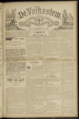 De Volksstem 1898-04-16