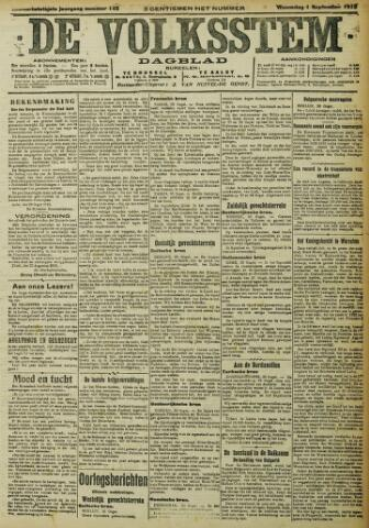 De Volksstem 1915-09-01