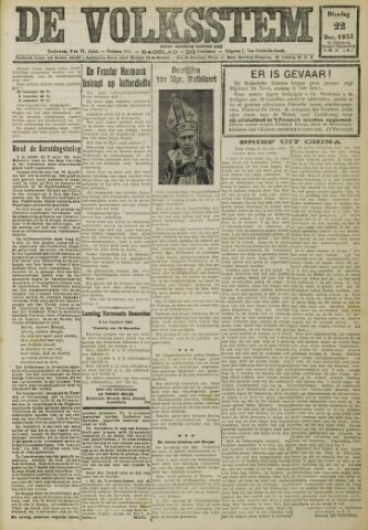 De Volksstem 1931-12-22