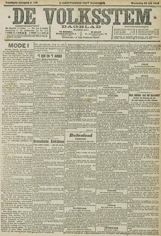 De Volksstem 1914-07-22