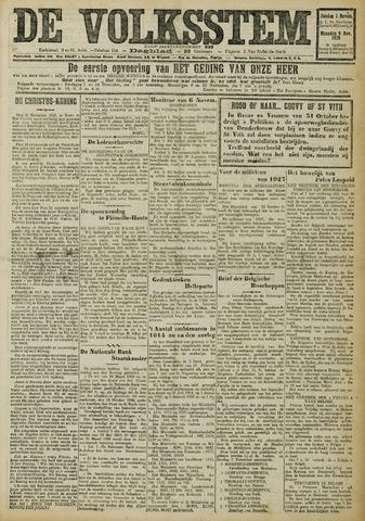 De Volksstem 1926-11-07