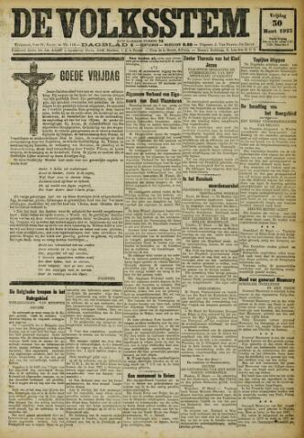De Volksstem 1923-03-30