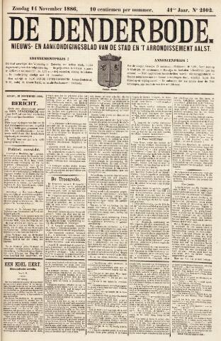 De Denderbode 1886-11-14