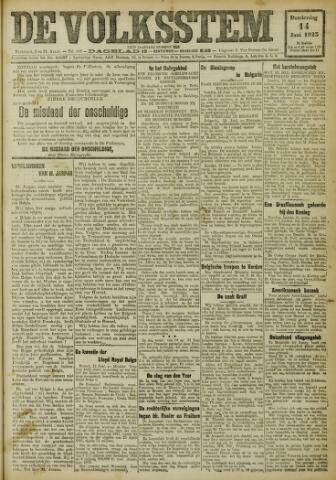 De Volksstem 1923-06-14