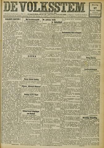 De Volksstem 1923-11-27