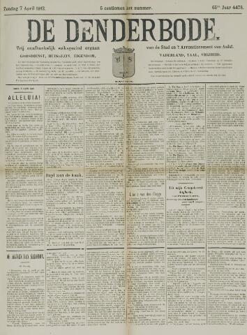 De Denderbode 1912-04-07