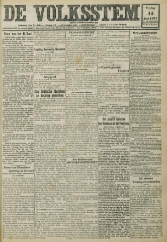 De Volksstem 1931-06-12