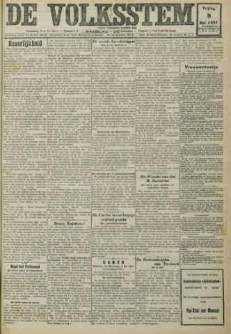 De Volksstem 1931-05-08
