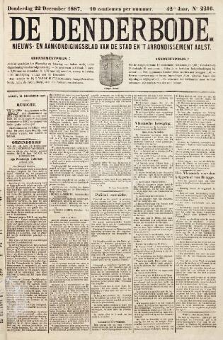 De Denderbode 1887-12-22