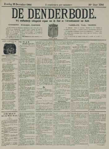 De Denderbode 1904-12-25