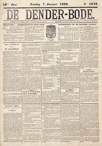 De Denderbode 1882