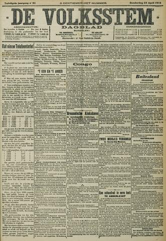 De Volksstem 1914-04-23
