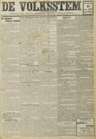 De Volksstem 1930-09-25