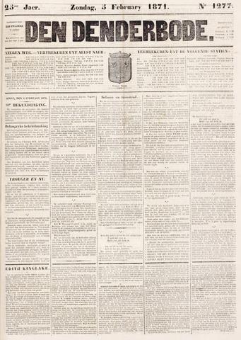 De Denderbode 1871-02-05