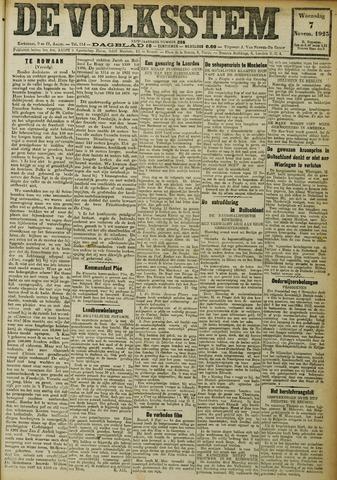 De Volksstem 1923-11-07