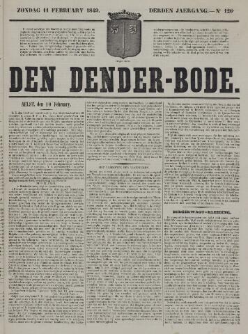 De Denderbode 1849-02-11