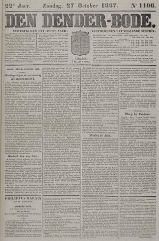 De Denderbode 1867-10-27