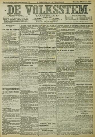 De Volksstem 1915-02-08