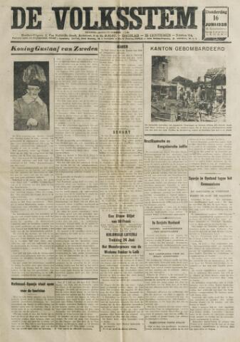 De Volksstem 1938-06-16