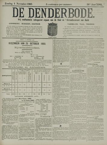 De Denderbode 1903-11-01