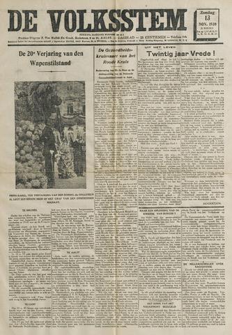 De Volksstem 1938-11-13