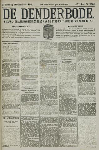 De Denderbode 1890-10-30