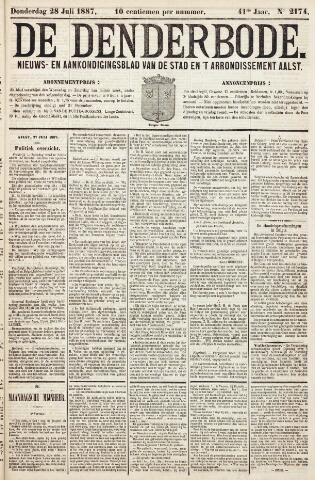 De Denderbode 1887-07-28