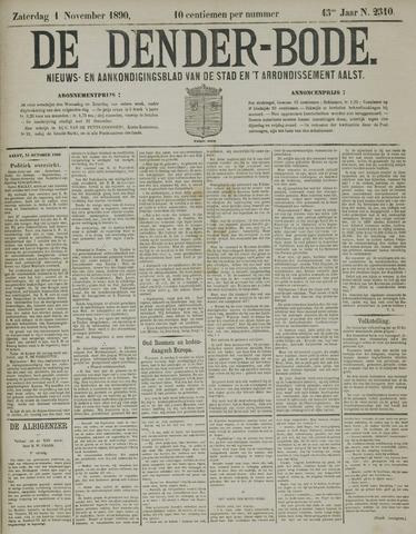 De Denderbode 1890-11-02