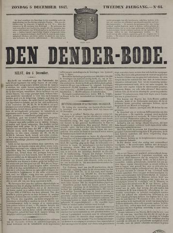 De Denderbode 1847-12-05