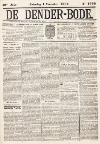 De Denderbode 1884-11-02