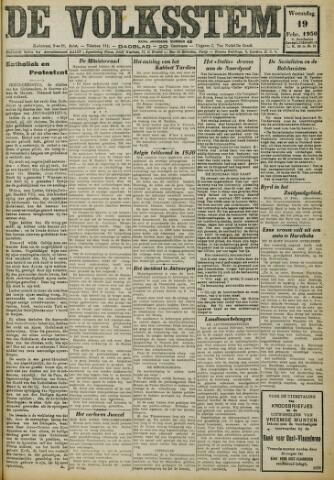 De Volksstem 1930-02-19