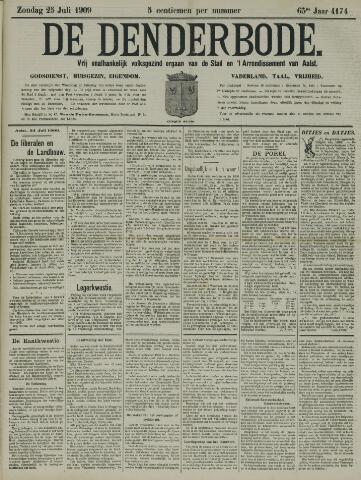 De Denderbode 1909-07-25