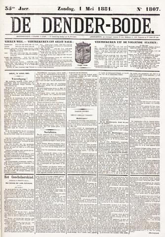 De Denderbode 1881-05-01